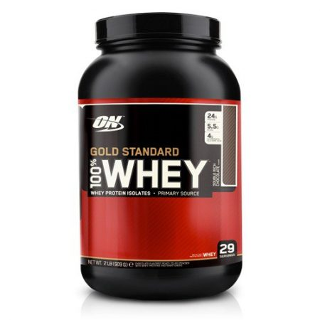 100% Whey Protein Gold Standard 2lbs Optimum 908g